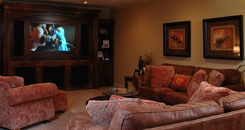 Entertainment Center Cabinetry & Enclosures