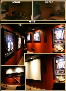 Man Cave Extreme Makeover