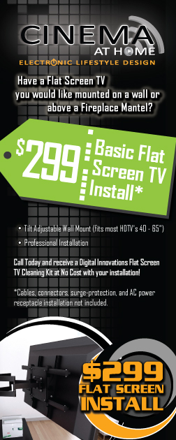 Kansas City Flat Screen TV Mount Install Coupon